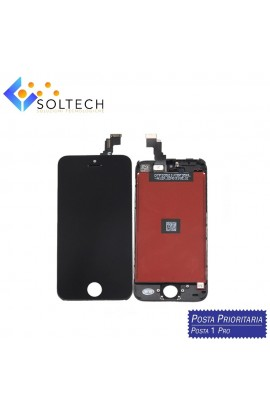 TOUCH SCREEN + LCD DISPLAY + FRAME PER IPHONE 5C VETRO SCHERMO NERO