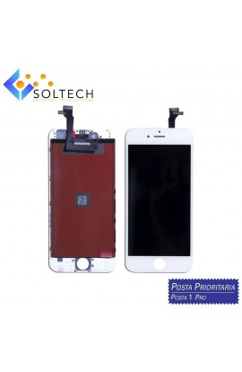 TOUCH SCREEN + LCD DISPLAY + FRAME PER IPHONE 6 PLUS VETRO SCHERMO BIANCO