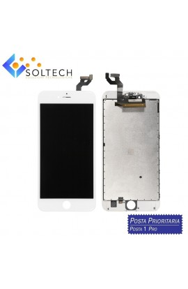 TOUCH SCREEN + LCD DISPLAY + FRAME PER IPHONE 6S PLUS VETRO SCHERMO BIANCO