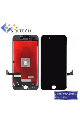 TOUCH SCREEN + LCD DISPLAY + FRAME PER IPHONE 7 VETRO SCHERMO NERO