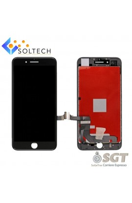 TOUCH SCREEN + LCD DISPLAY + FRAME PER IPHONE 7 PLUS VETRO SCHERMO NERO