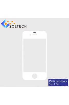 VETRO ANTERIORE FRONT GLASS SCREEN PER IPHONE 4S BIANCO WHITE