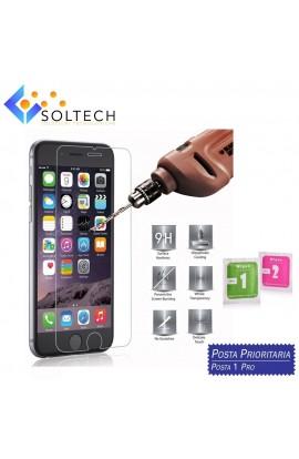 PELLICOLA IN VETRO TEMPERATO IPHONE 7 PLUS PROTEGGI DISPLAY SCHERMO LCD 0,3 MM