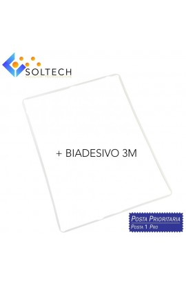 FRAME TELAIO CORNICE TOUCHSCREEN VETRO LCD + BIADESIVO PER IPAD 2 - 3 - 4 BIANCO WHITE