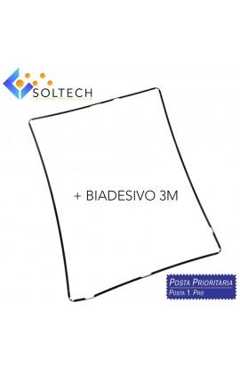 FRAME TELAIO CORNICE TOUCHSCREEN VETRO LCD + BIADESIVO PER IPAD 2 - 3 - 4 NERO BLACK