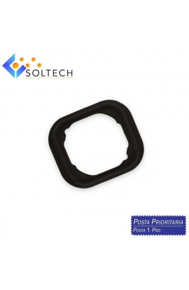 GUARNIZIONE IN GOMMA TASTO HOME BUTTON RUBBER GASKET PER IPHONE 6 / 6 PLUS