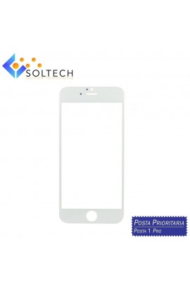 VETRO ANTERIORE FRONT GLASS SCREEN PER IPHONE 6 / 6S BIANCO WHITE