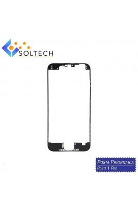 FRAME CORNICE TELAIO VETRO LCD + COLLA PER IPHONE 6 TOUCH SCREEN NERO BLACK