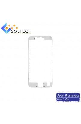 FRAME CORNICE TELAIO VETRO LCD + COLLA PER IPHONE 6S TOUCH SCREEN BIANCO WHITE