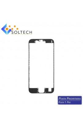 FRAME CORNICE TELAIO VETRO LCD + COLLA PER IPHONE 6S TOUCH SCREEN NERO BLACK